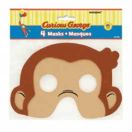 Curious George Foam Masks (4)
