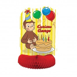 Curious George Honeycomb Centerpiece (1)