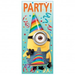 Despicable Me Minion Door Poster (1)