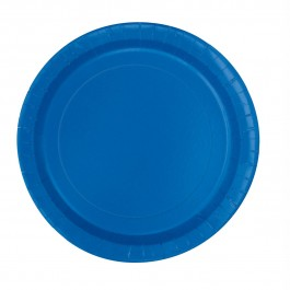 Royal Blue Dessert Plates (20)