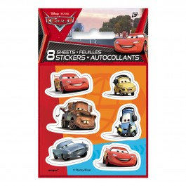 Disney Cars Sticker Sheets (8)
