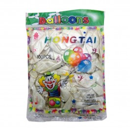 White Balloon -100 ct (100)