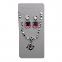 Pink Dolphin Pendant Set (1)