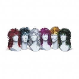 Punk Foil Wig - Assorted (1)