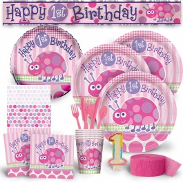 First Birthday Ladybug Deluxe Kit