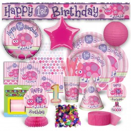First Birthday Ladybug Premium Kit