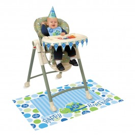 First Birthday Turtle High Chair Kit (1)