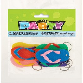 Flip Flop Key Chains (6)