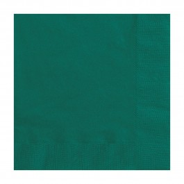 Forest Green Beverage Napkins (20)