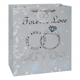 Forever Love Rings Large Gift Bag (1)