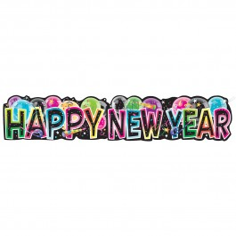 Giant Jointed New Year Banner 4.5 Ft (1)