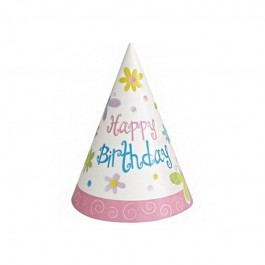Garden Girl Birthday Party Hats (8)
