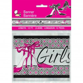Girls Night Out Foil Banner 12 ft. (1)