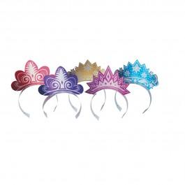Glitter Tiaras - Assorted (5)