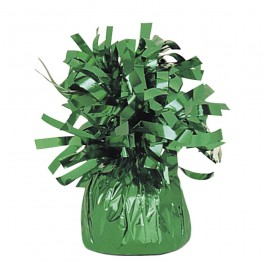 Green Foil Balloon Weights (1)