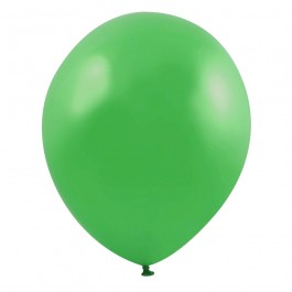 Green Latex Balloons (100)