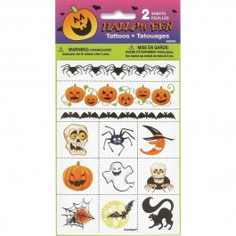 Halloween Color Tattoo Sheet (2)
