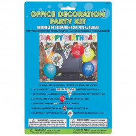 Happy Birthday Office Decor Kit (1)