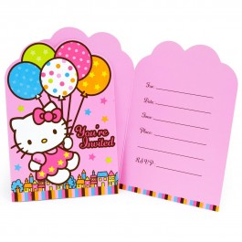 Hello Kitty Invitations (8)