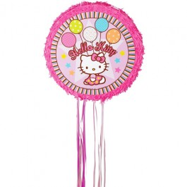 Hello Kitty Pull String Pinata (1)