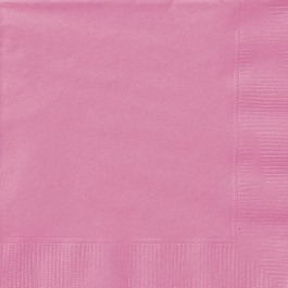 Hot Pink Beverage Napkins (20)