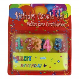 Numeral Cake Candles 0-9 (1)