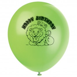 Jungle Safari Birthday Balloons (8)