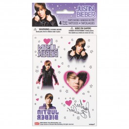 Justin Bieber Color Tattoos (4)