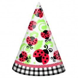 Ladybug Birthday Party Hats (8)