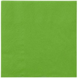 Lime Green Beverage Napkins (20)