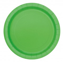 Lime Green Dessert Plates (20)