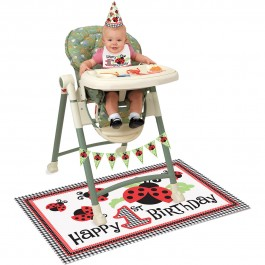 Lively Ladybug High Chair Kit (1)