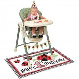 Lively Ladybug High Chair Kit (1)