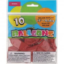 Magenta Latex Balloons (15)