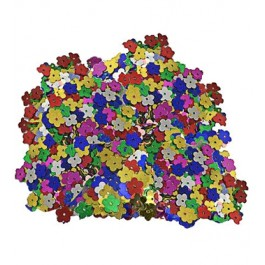 Metallic Flowers Multicolor Confetti (1)