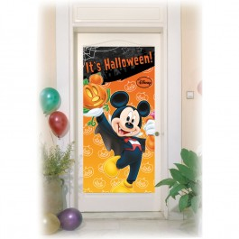 Mickey Halloween Door Poster (1)