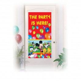Mickey Mouse Door Poster (1)