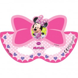 Minnie Bowtique Die-cut  Paper Masks (6)