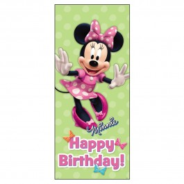 Minnie Mouse Birthday Party Door Poster (1)