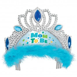 Blue Mom To Be Tiara (1)