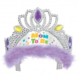Purple Mom To Be Tiara (1)
