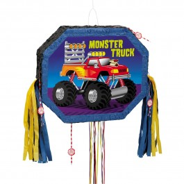 Monster Truck Pull String Pinata (1)