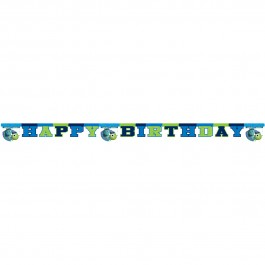 "Monsters University  ""Happy Birthday"" Die-cut  Banner (1)"