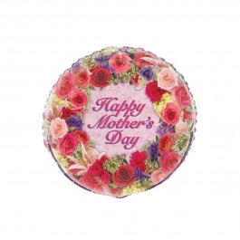 "Happy Mother's Day Flowers 18"" Foil Balloon (1)"