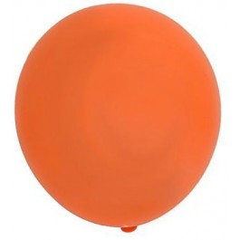 Orange Latex Balloons (100)