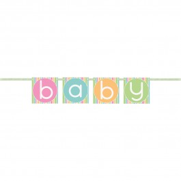 Pastel Baby Shower Block Banner (1)