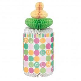 Pastel Baby Shower Bottle Honeycomb (1)
