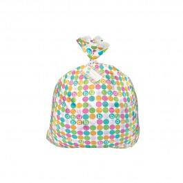 Pastel Baby Shower Jumbo Plastic Giftbag (1)