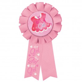 Pink Clothesline Baby Shower Award Ribbon (1)