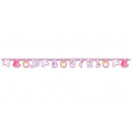 Pink Clothesline Baby Shower Banner (1)